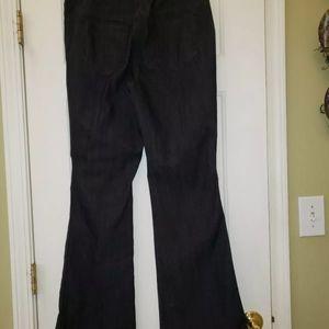 Chicos elastic waist 2.5 size Jean's dark blue euc
